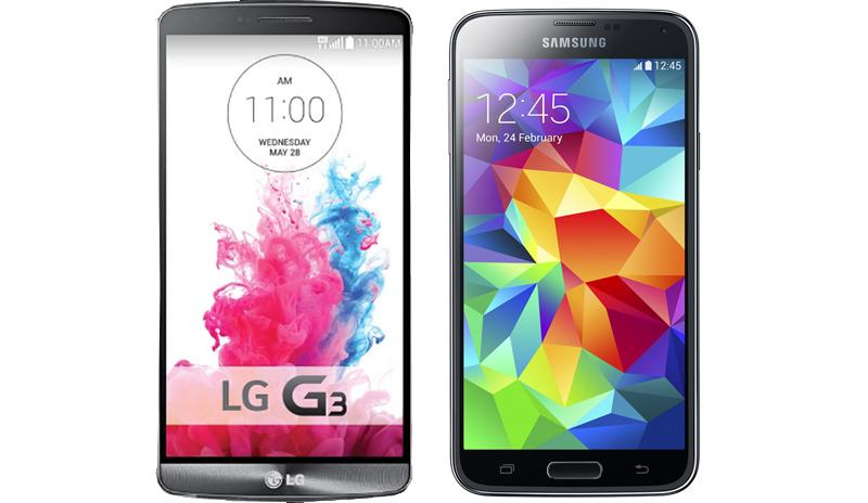 LG G3 vs. Samsung Galaxy S5 Full Comparison Edition