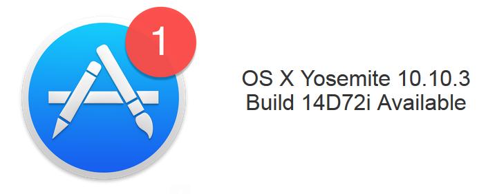Yosemite Build 14D72i