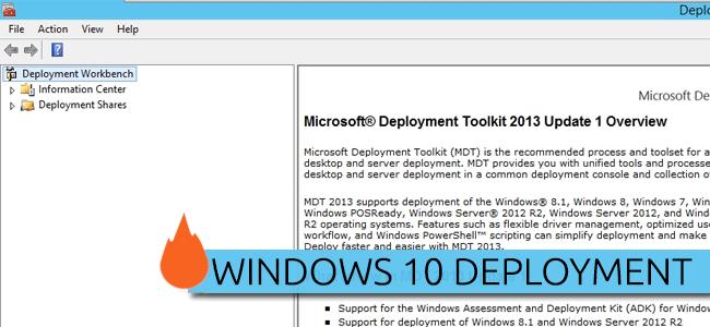Rebuilding MDT Server for Windows 10 Deployment | BTNHD