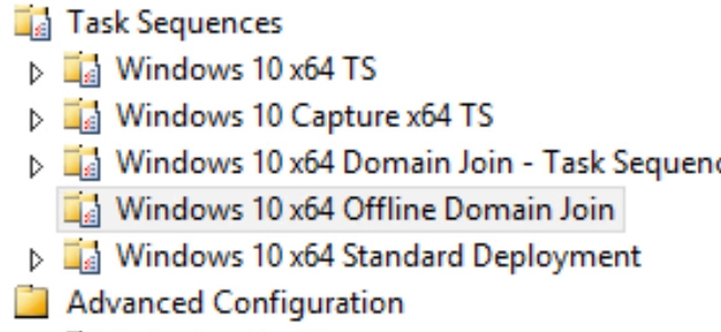 Offline Domain Join with MDT 2013 and Windows Operating